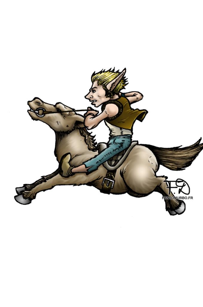 monture cheval